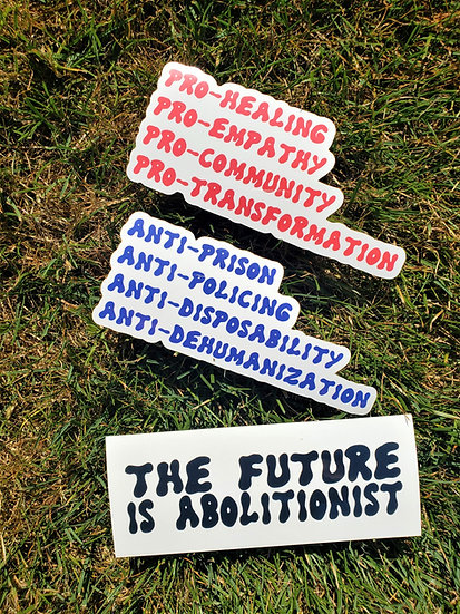 The Future is Abolitionist Sticker Pack