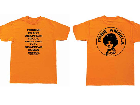 This Angela Davis Inspired Tee is Helping Bail People Out of Jails and Detention Centers