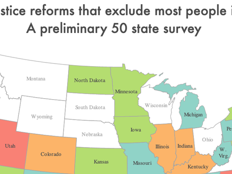 New report makes case for including people convicted of violence in criminal justice reforms