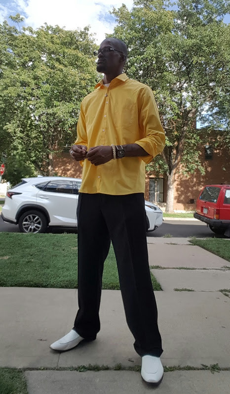 formerly incarcerated man, man in yellow shirt, forgive everyone