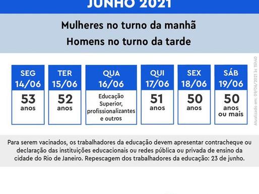 Paes anuncia que Rio vai vacinar todos com mais de 50 anos na cidade até semana que vem
