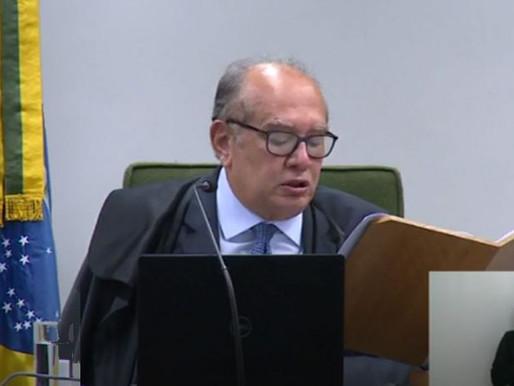 Gilmar Mendes declara parcialidade de Moro em processos contra ex-presidente Lula