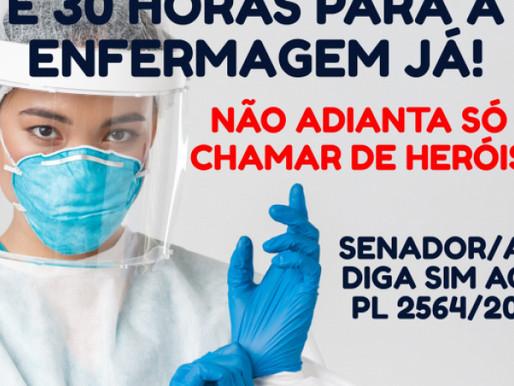 PL da Enfermagem obtém votos suficientes para ser aprovado no Senado