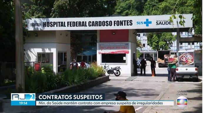 Ministério da Saúde tenta manter contrato com empresa acusada de irregularidades em hospital federal