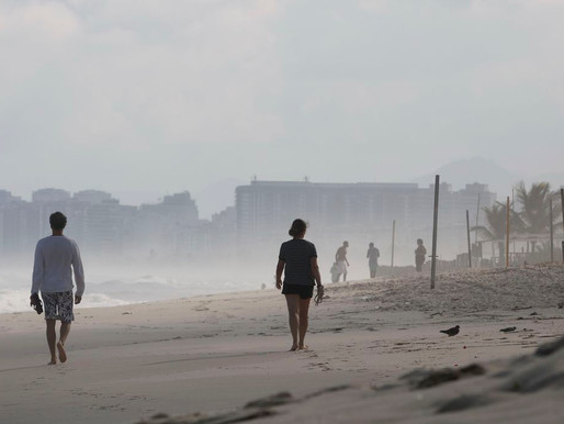 Cidade do Rio de Janeiro permanece em estágio de risco para covid-19