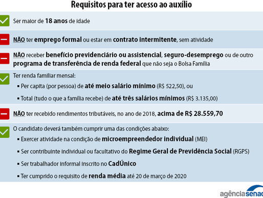 Cadastro Único garante o pagamento do auxílio emergencial de R$ 600
