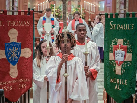 Christ Church Cathedral hosts Diocesan Acolyte Festival