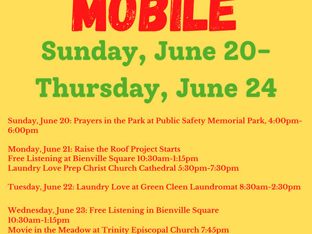 """Raise the Roof + Beloved Community Outreach Center Host """"Be Loved, Mobile Week""""!"""