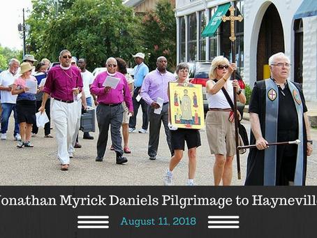 Jonathan Myrick Daniels Pilgrimage on August 11, 2018