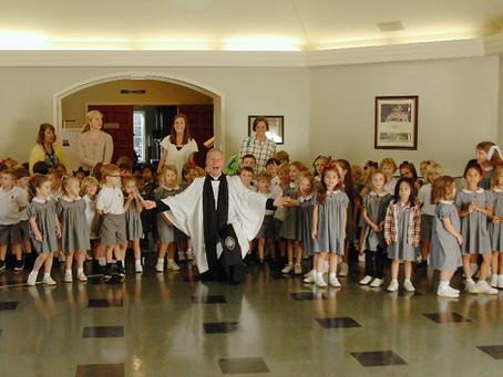 Father Ken Cumbie Celebrates Retirement
