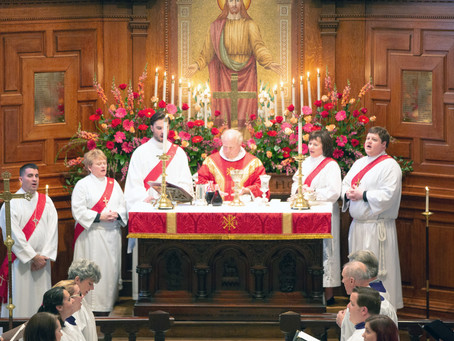 Five Seminarians Ordained to the Sacred Order of Deacons
