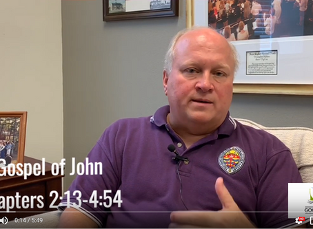 Bishop Russell Reflects on John 2:13-4:54