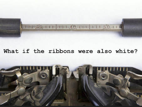 What if the ribbons were also white?