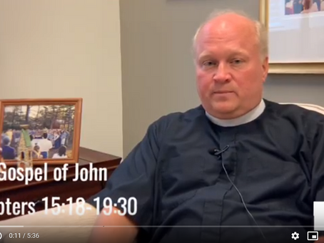 Bishop Russell Reflects on John 15:18-19:30