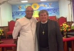 Rev. Cecil Williams and the Rev. R. Barry Crow