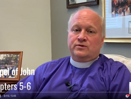 Bishop Russell Reflects on John 5-6