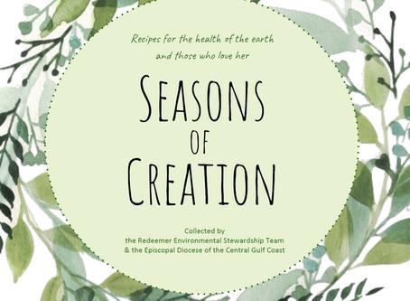 """Seasons of Creation"" E-cookbook"