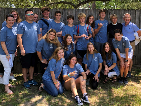 St. Christoher's EYC Mission Trip to Birmingham