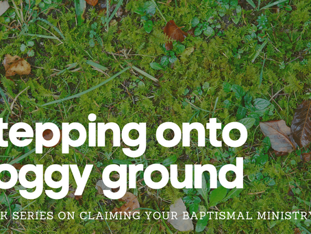 Stepping Onto Soggy Ground - 6 Week Series on Claiming Your Baptismal Ministry