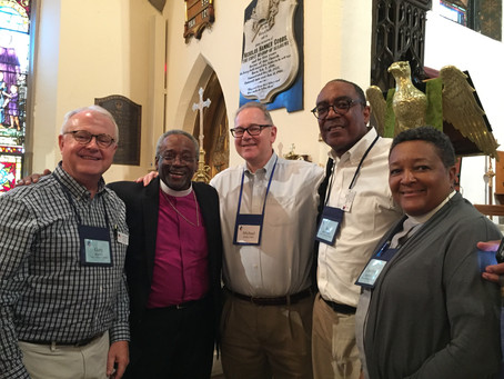 Commissions of the Episcopal dioceses of Alabama and Central Gulf Coast serve as spiritual leaders f