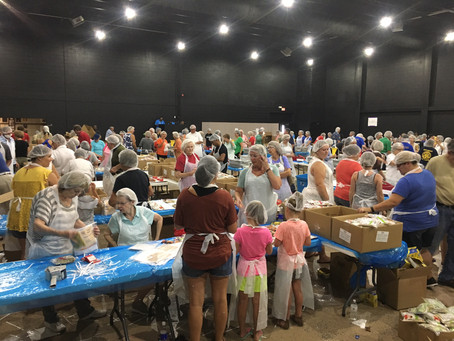 75,000 meals packed during Feed the Need event
