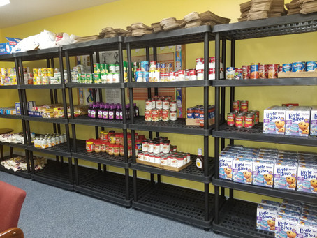 Holy Cross opens food pantry