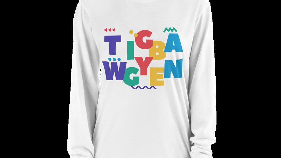 80s TwiggyBean Long sleeve t-shirt