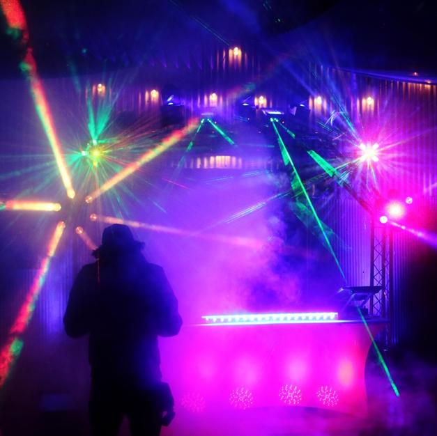 """The Arch"" Live Light Show"