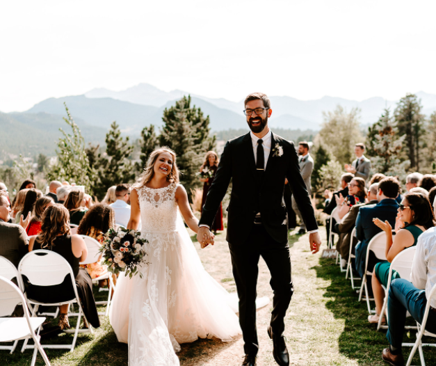 William and Brittany in Estes Park, Colorado