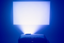Projector + Screen