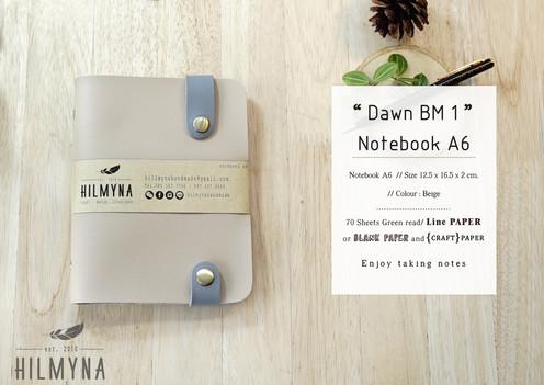 Dawn BM1 Notebook A6