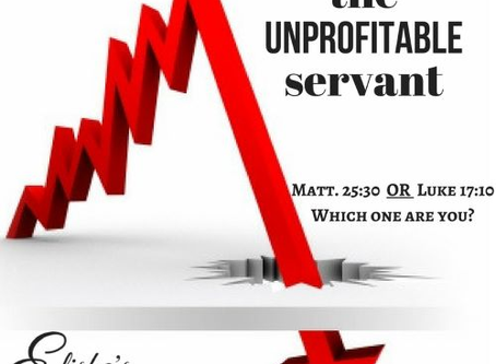 The Unprofitable Servant