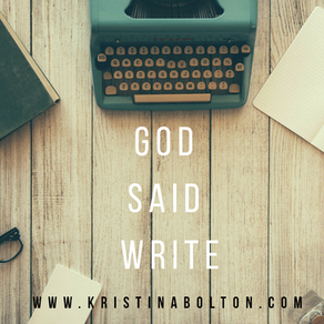 God Said Write