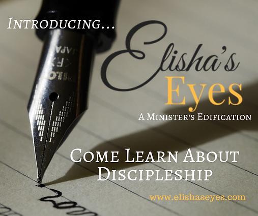 Elisha's Eyes