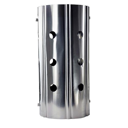 Titanium heat protector