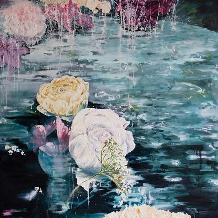 Elixir 120cm x 120cm | Oil on canvas