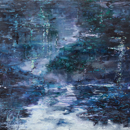 Exotic nights | 50cm x 50cm | Oil on canvas |