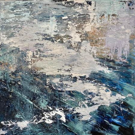 Absence | Oil On Canvas | 40cm x 40cm