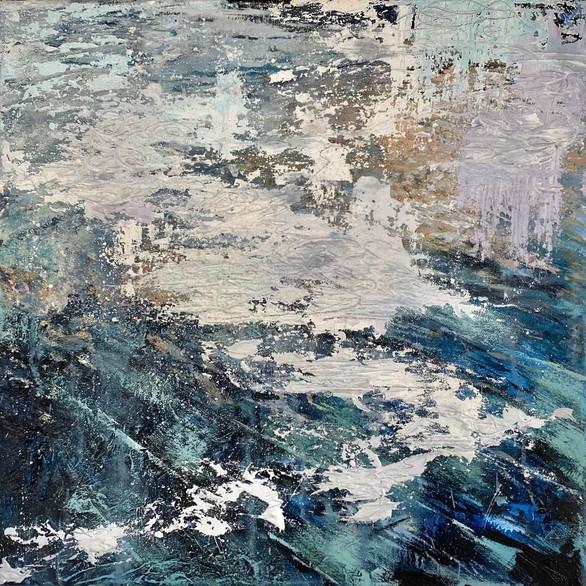 Absence - Oil On Canvas- 40cm x 40cm