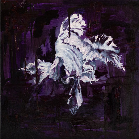 Flora 40cm x 40cm | Oil on canvas | SOLD