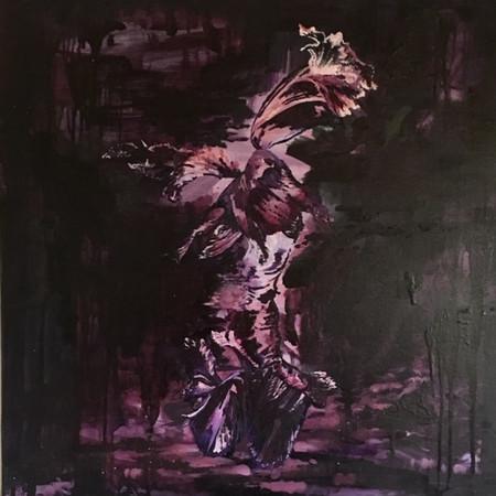 Dance of the Tulip 60cm x 60cm | Oil on canvas