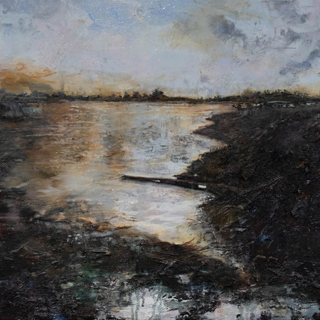 Scents of Dusk | Oil On Canvas | 60cm x 60cm