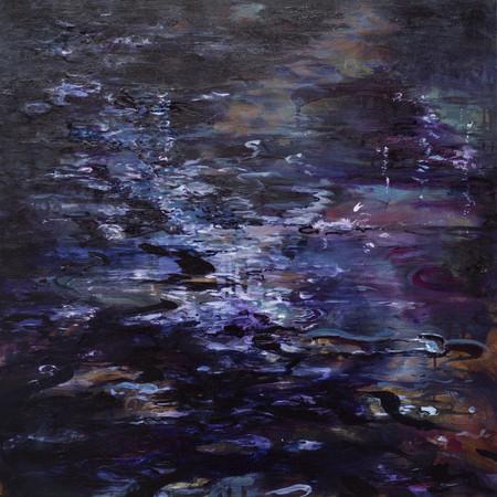 Dark waters | 60cm x 60cm | Oil on canvas