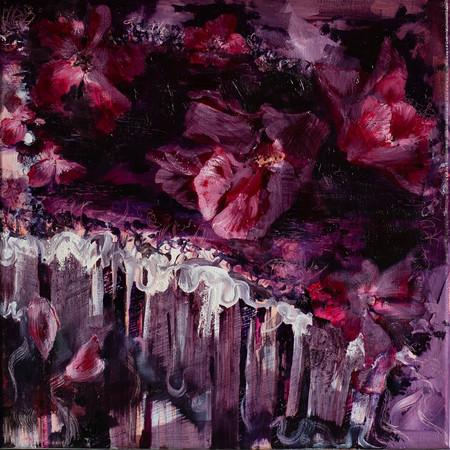 Floriane 40cm x 40cm | Oil on canvas