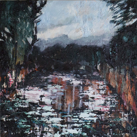 Pellucid Pool 50cm x 50cm | Oil on canvas