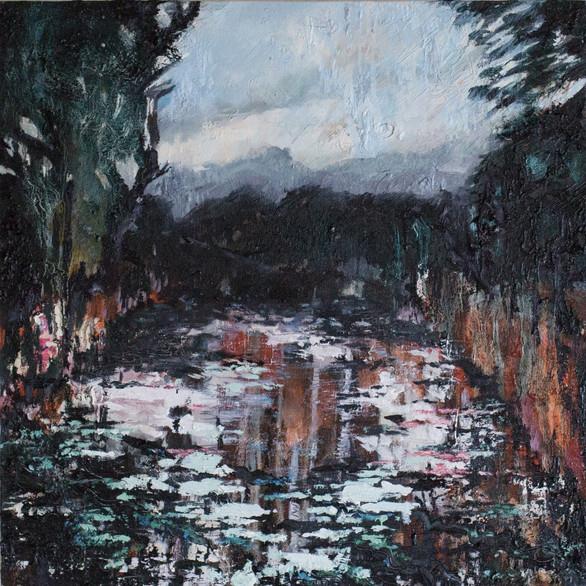 Pellucid Pool 50cm x 50cm   Oil on canvas