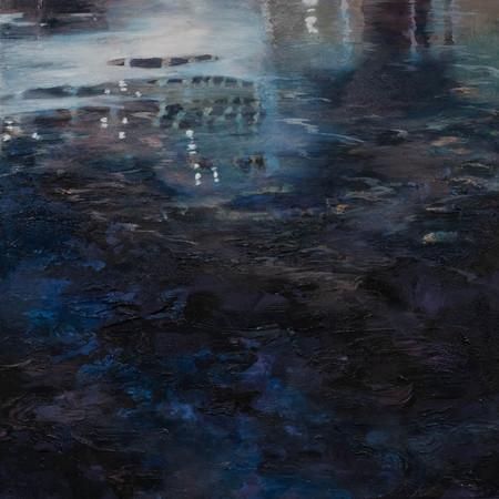 Deep | Oil On Canvas | 50cm x 50cm