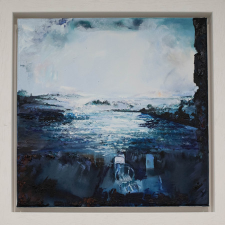 Without Boundaries | Oil On Canvas | Image Size 40cm x 40cm