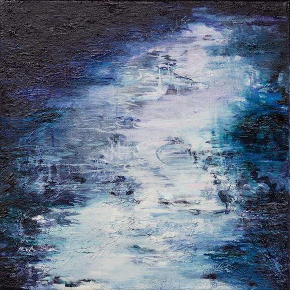 Deep Mist   40cm x 40cm   Oil on canvas