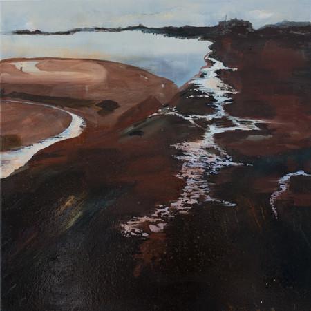 Lethe-wards | 60cm x 60cm | Oil on canvas